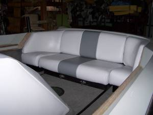 Pleasure Boat Rear Bench